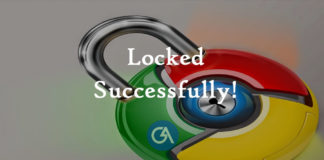 chrome-lock-password-setup